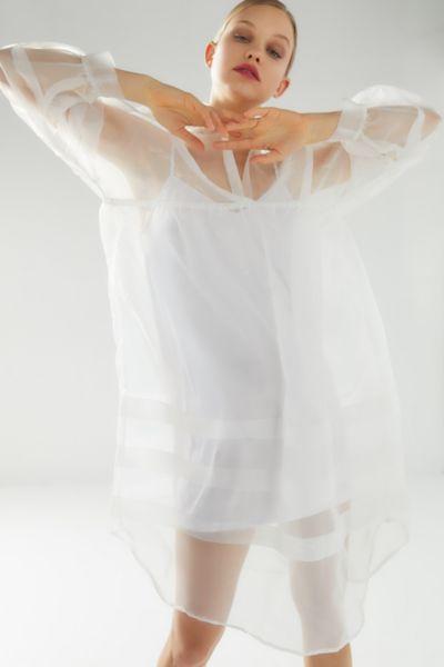 Laura Ashley UO Exclusive Amelia Organza Midi Dress