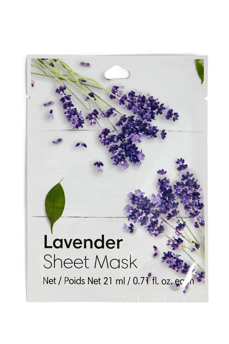 F21 Lavender Sheet Mask