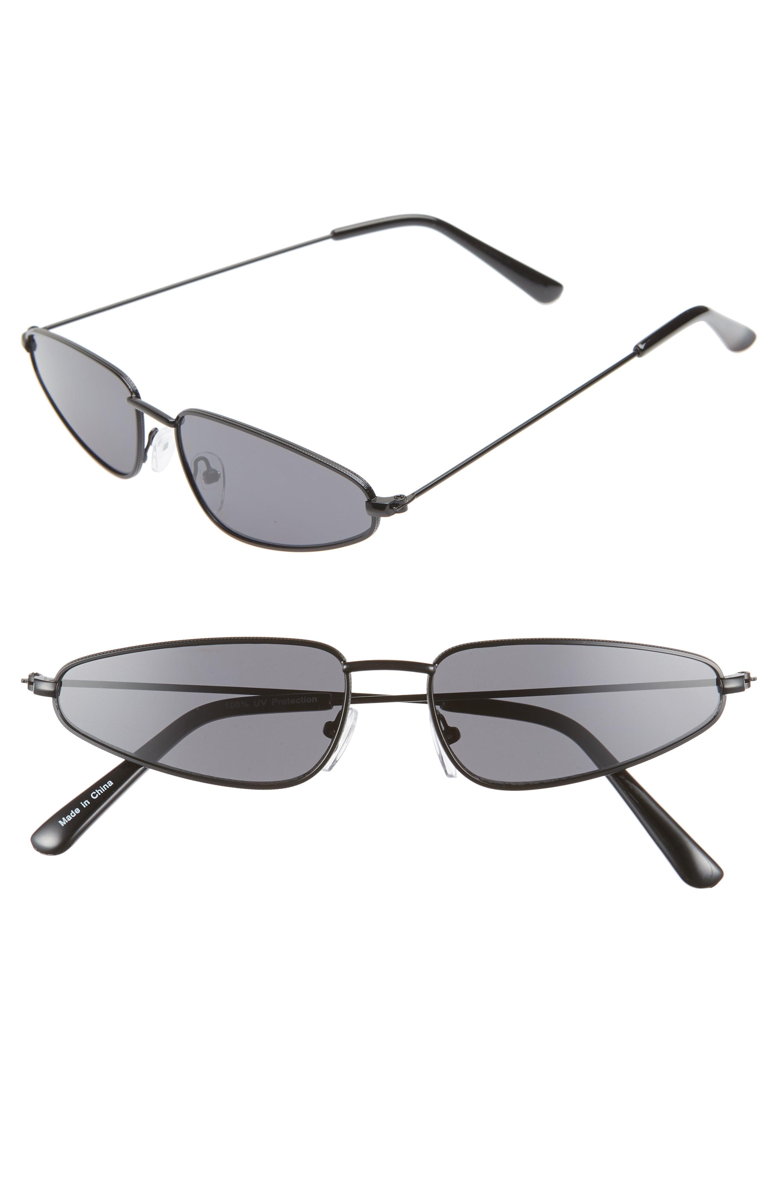 Leith Angular 56mm Cat Eye Sunglasses