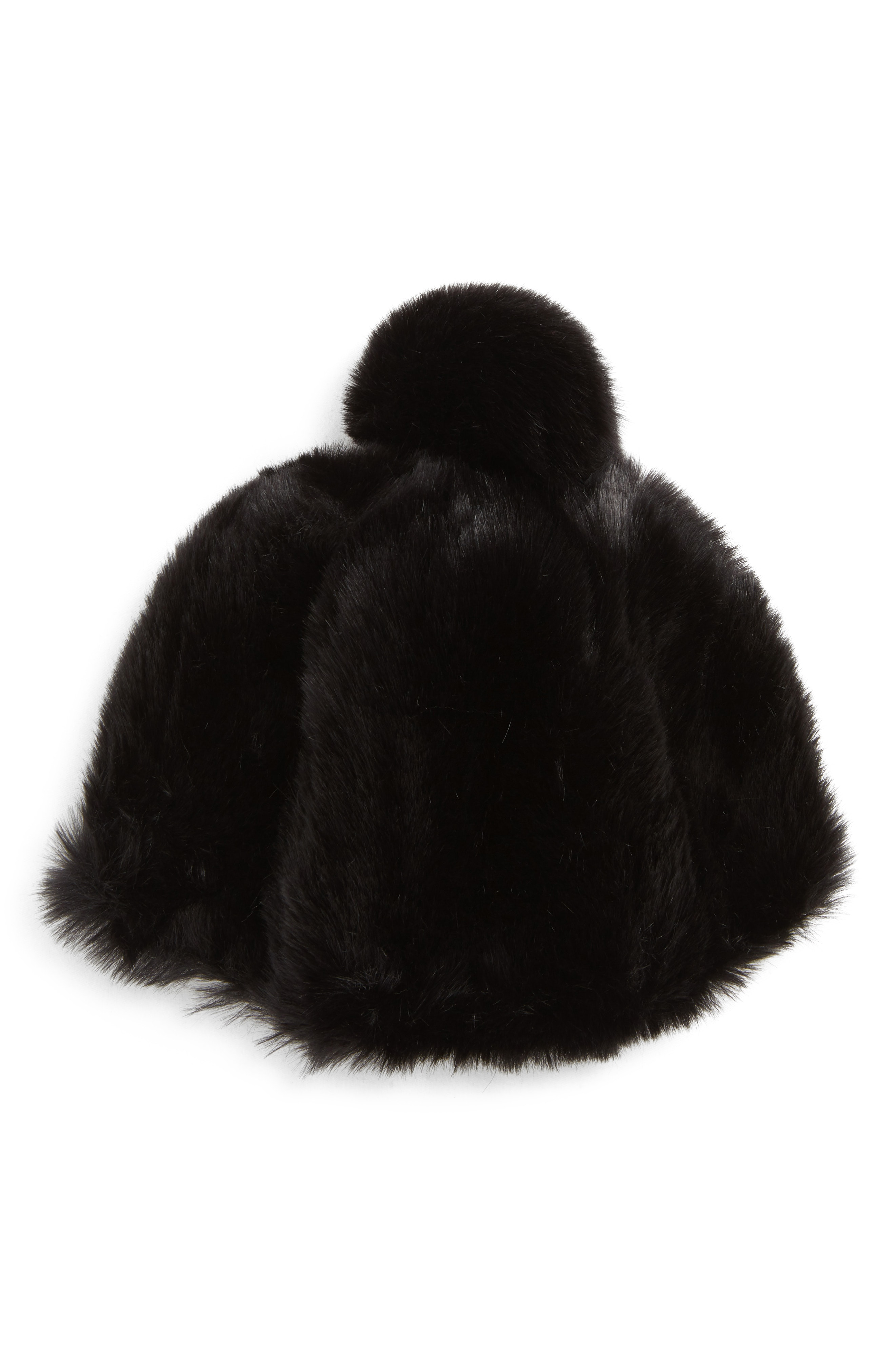 Leith Faux Fur Oversized Pom Hat