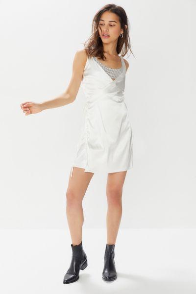 Lioness Basilla Side-Tie Mini Wrap Dress