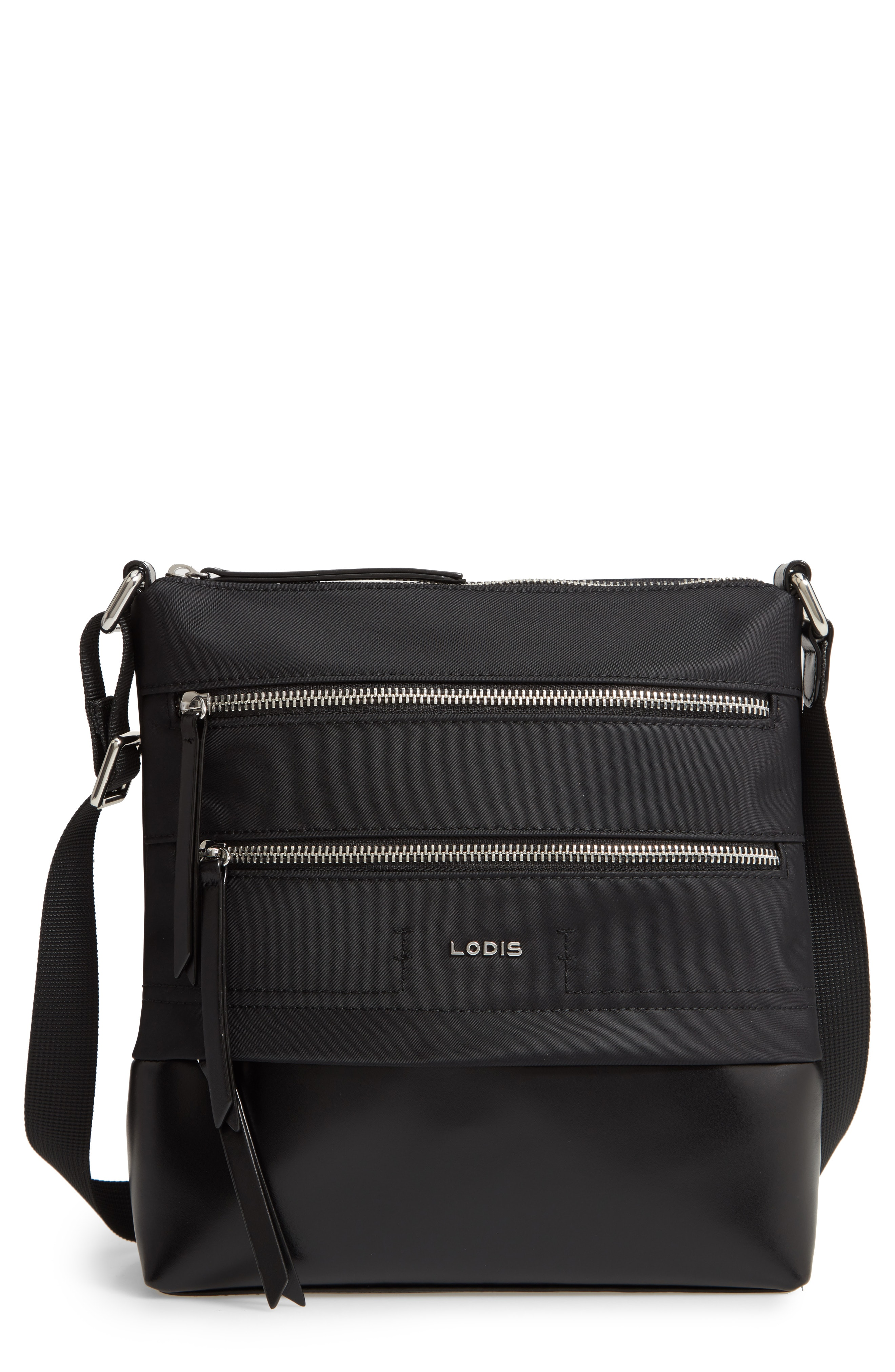 LODIS Los Angeles Wanda Nylon Sport RFID Travel Crossbody Bag