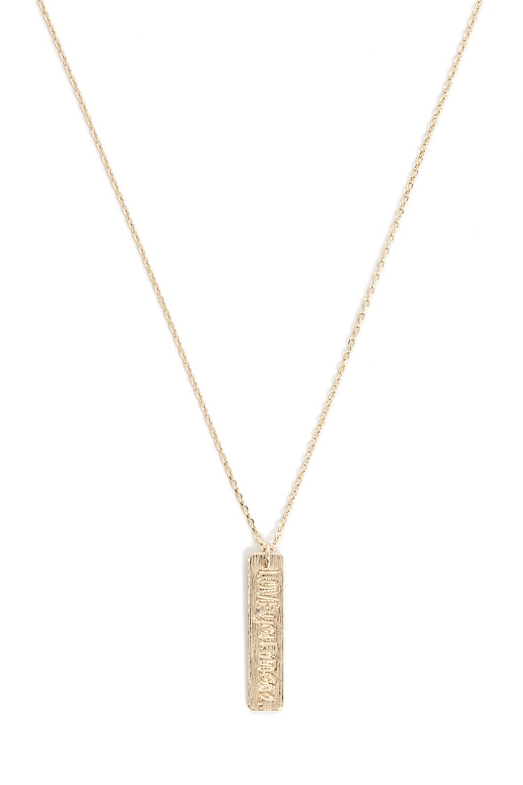 F21 Love Pendant Necklace