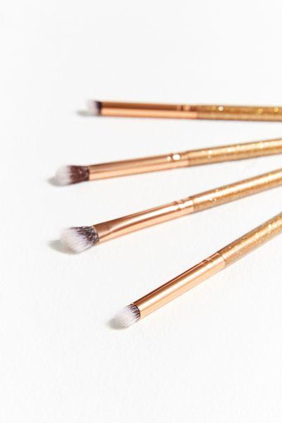 Luxie Luminous Eye 4-Piece Brush Set