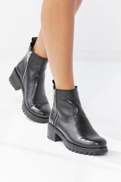 Maci Zippered Ankle Boot