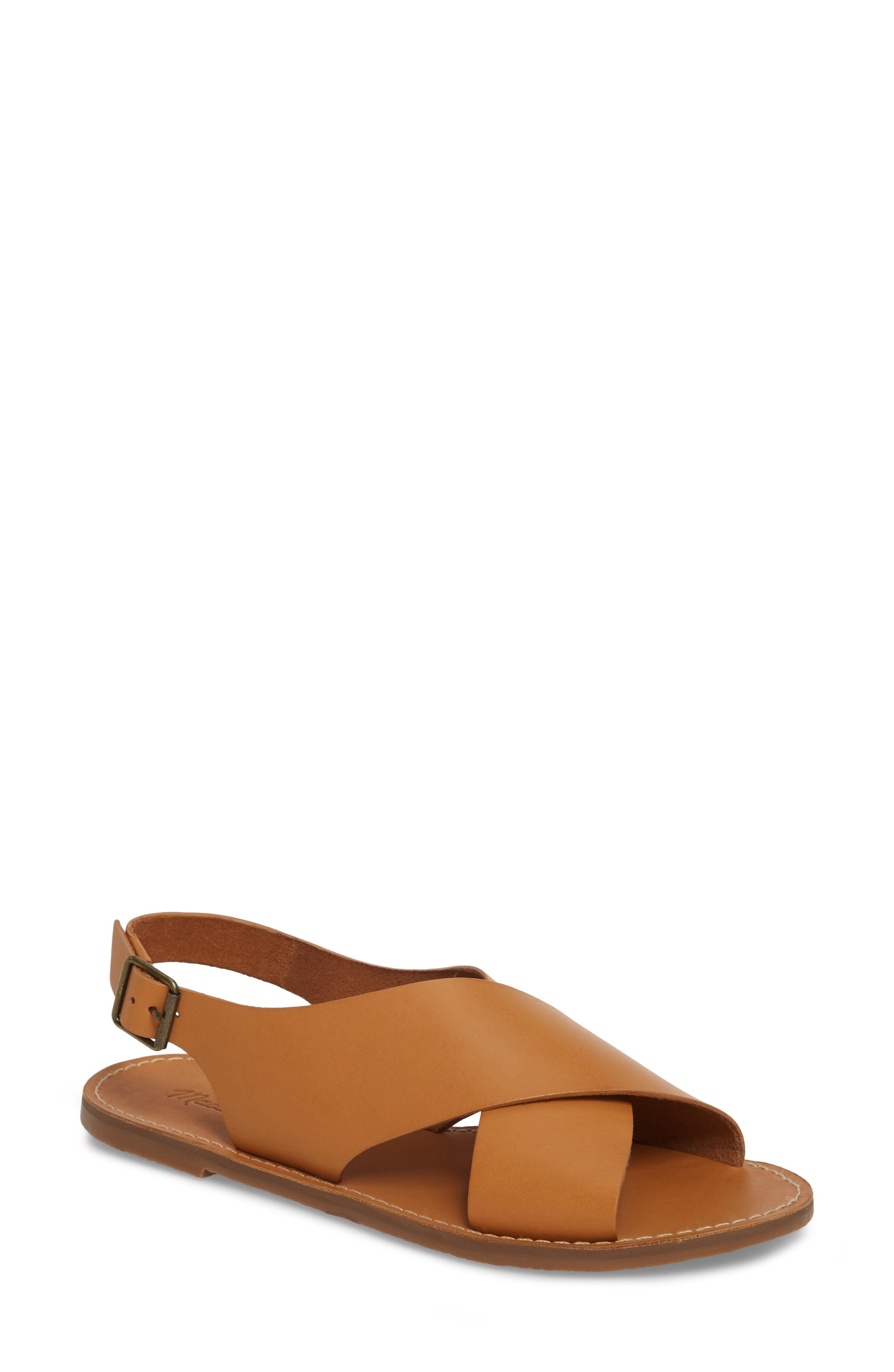 Madewell Boardwalk Flat Sandal (Women)