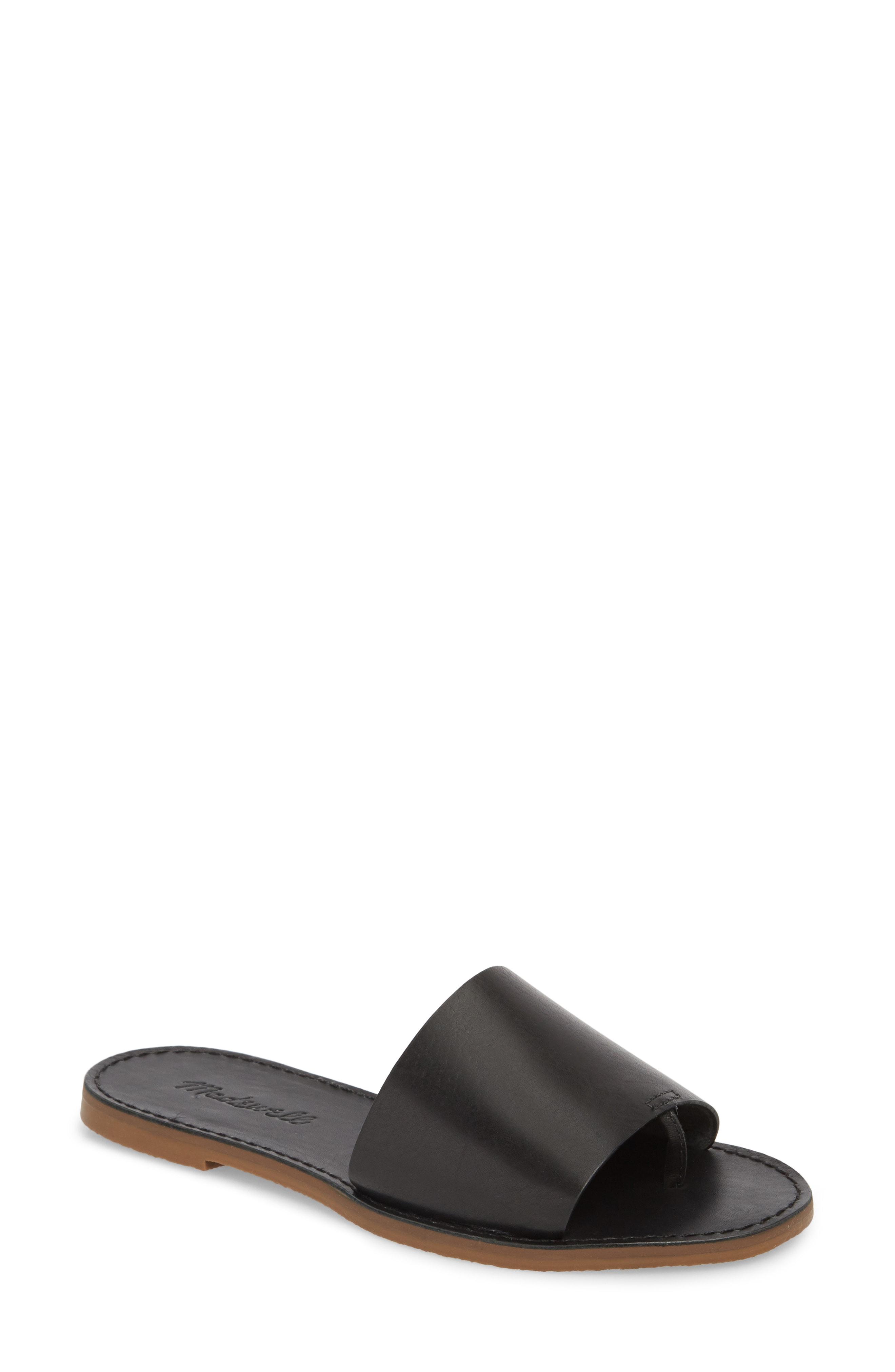 Madewell Boardwalk Post Slide Sandal (Women)