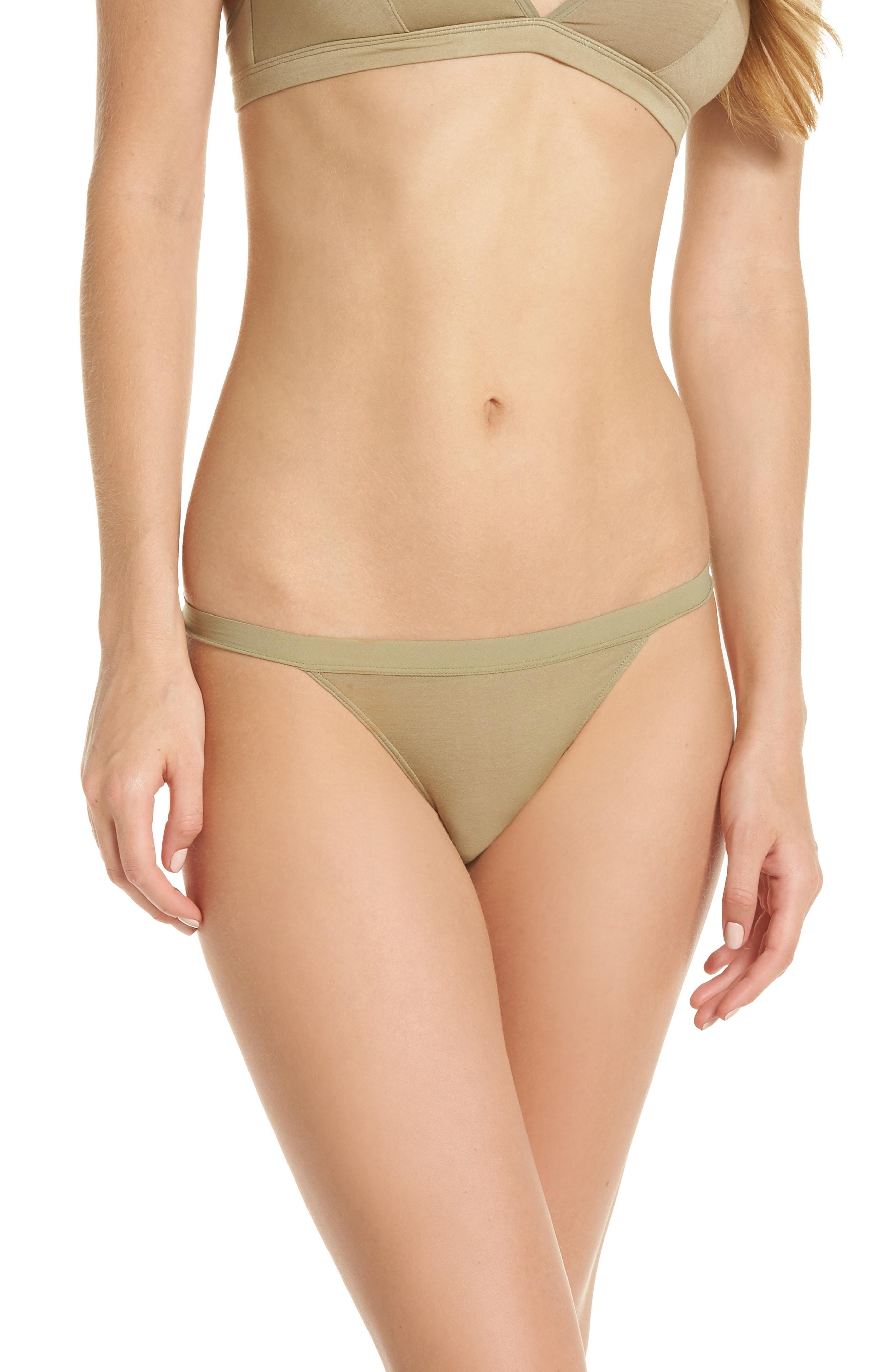 Madewell Micromodal String Bikini (3 for $33)