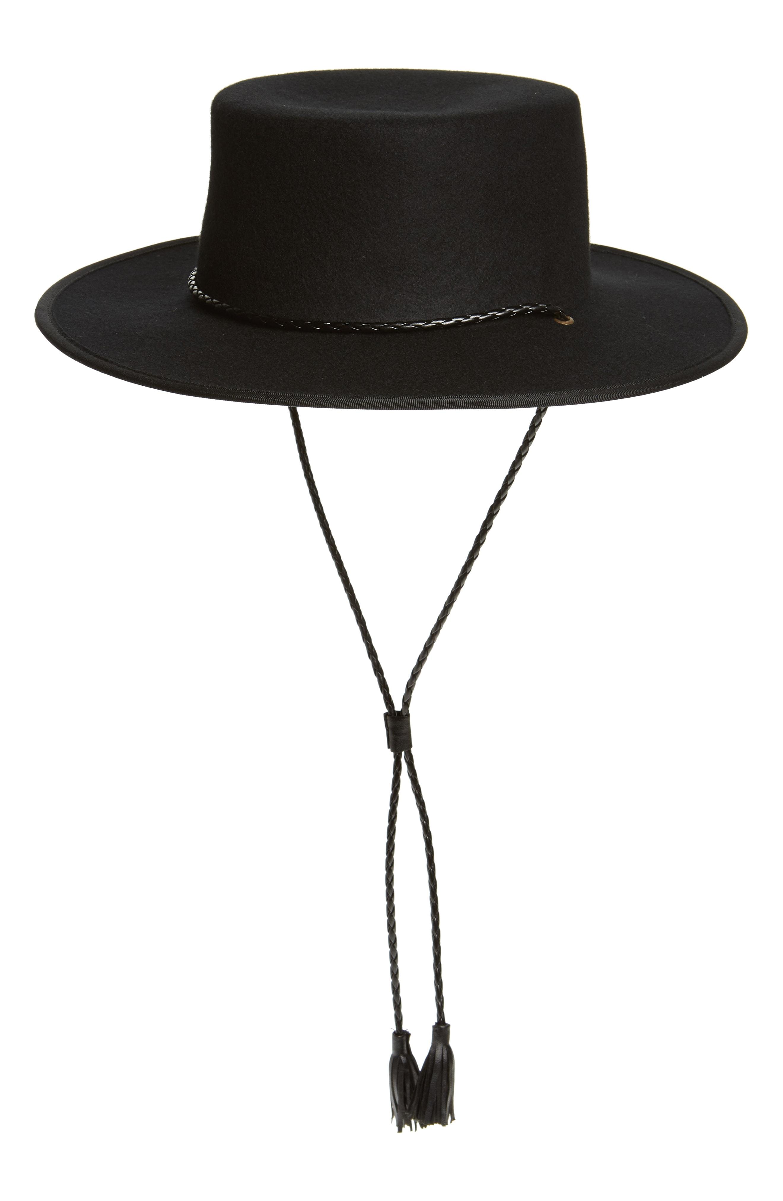 Madewell x Biltmore Felt Stampede Strap Hat