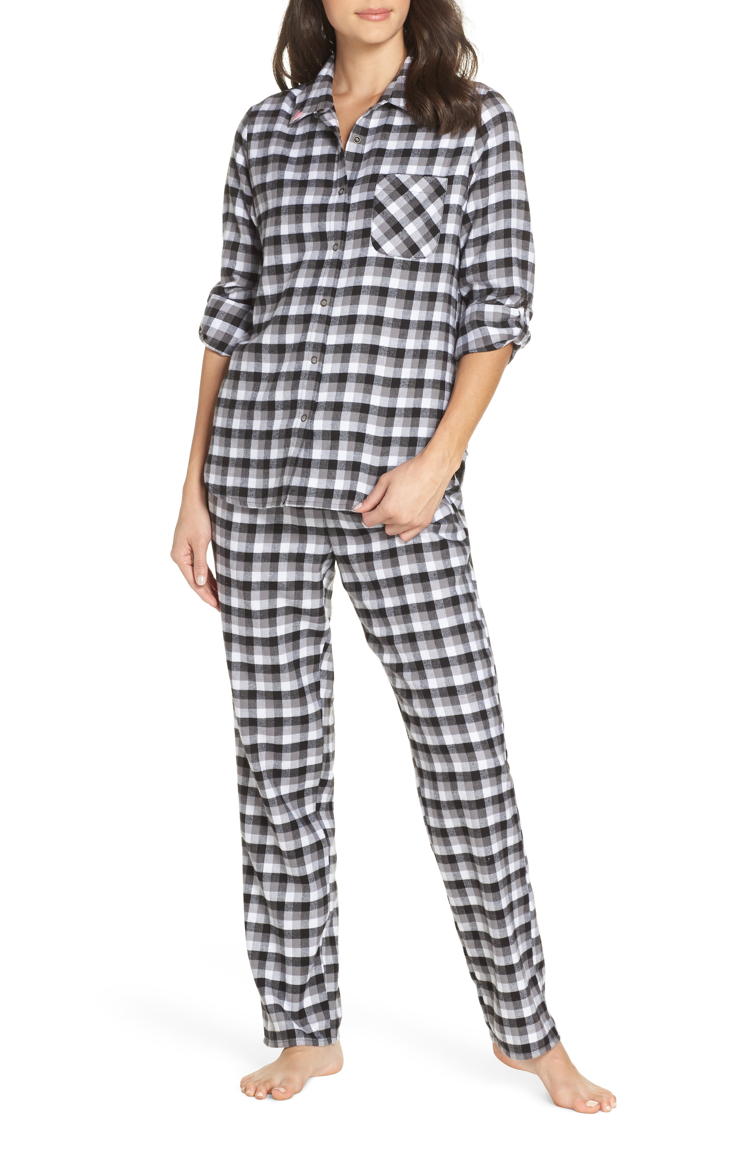 Make + Model Flannel Girlfriend Pajamas