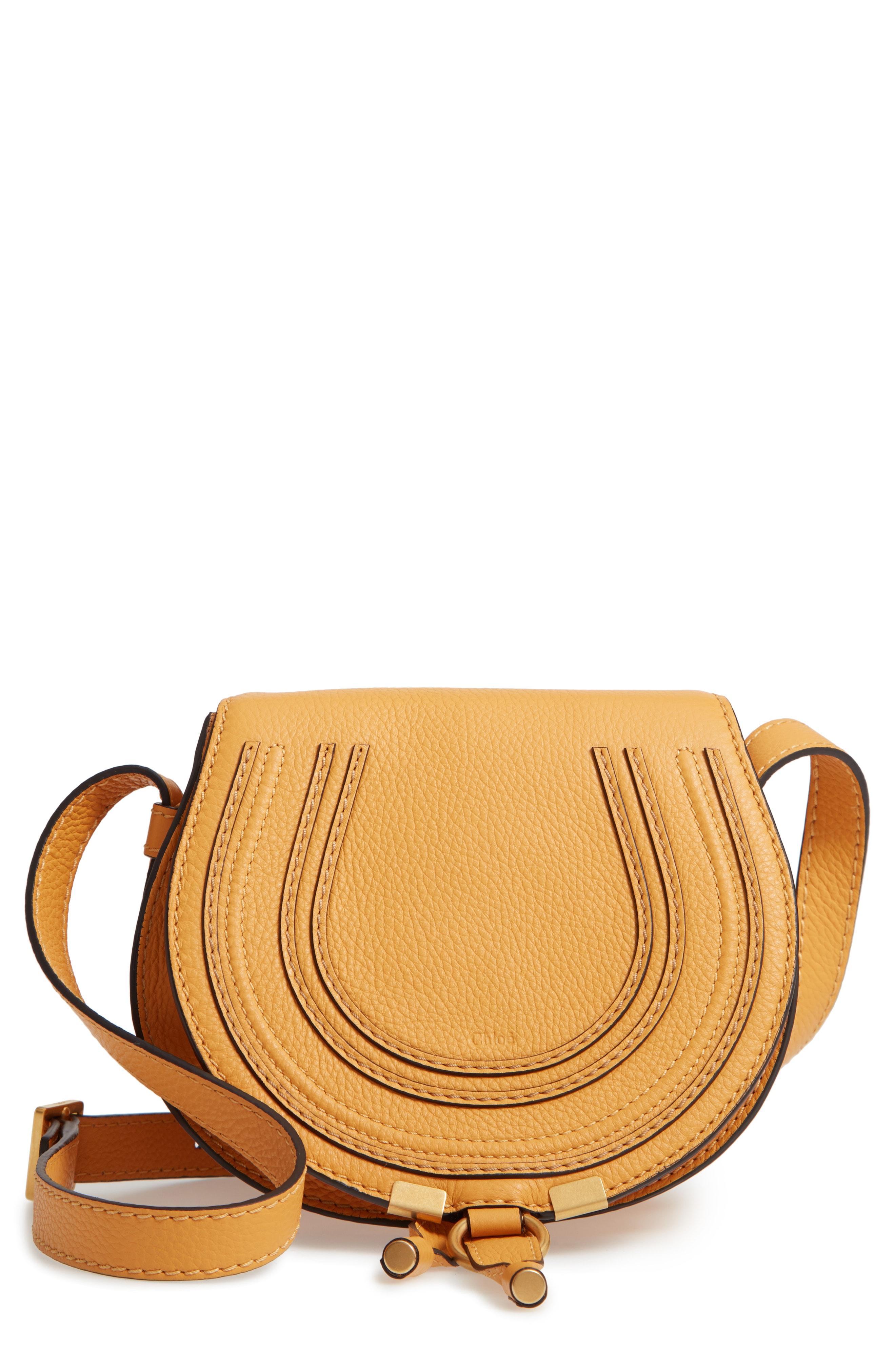 Chlo 'Mini Marcie' Leather Crossbody Bag