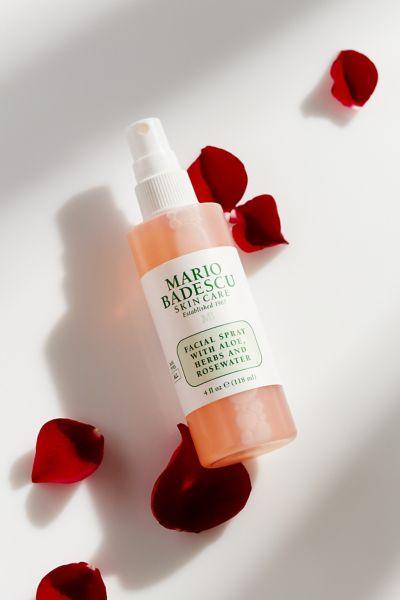 Mario Badescu Facial Spray With Aloe, Herbs And Rosewater 4 oz