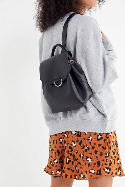 Mellie Faux Leather Mini Backpack