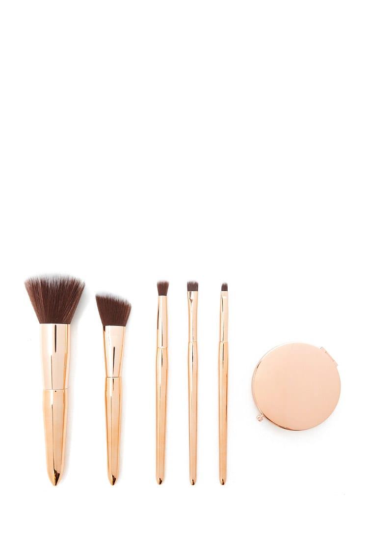 F21 Metallic Ombre Makeup Brush Set