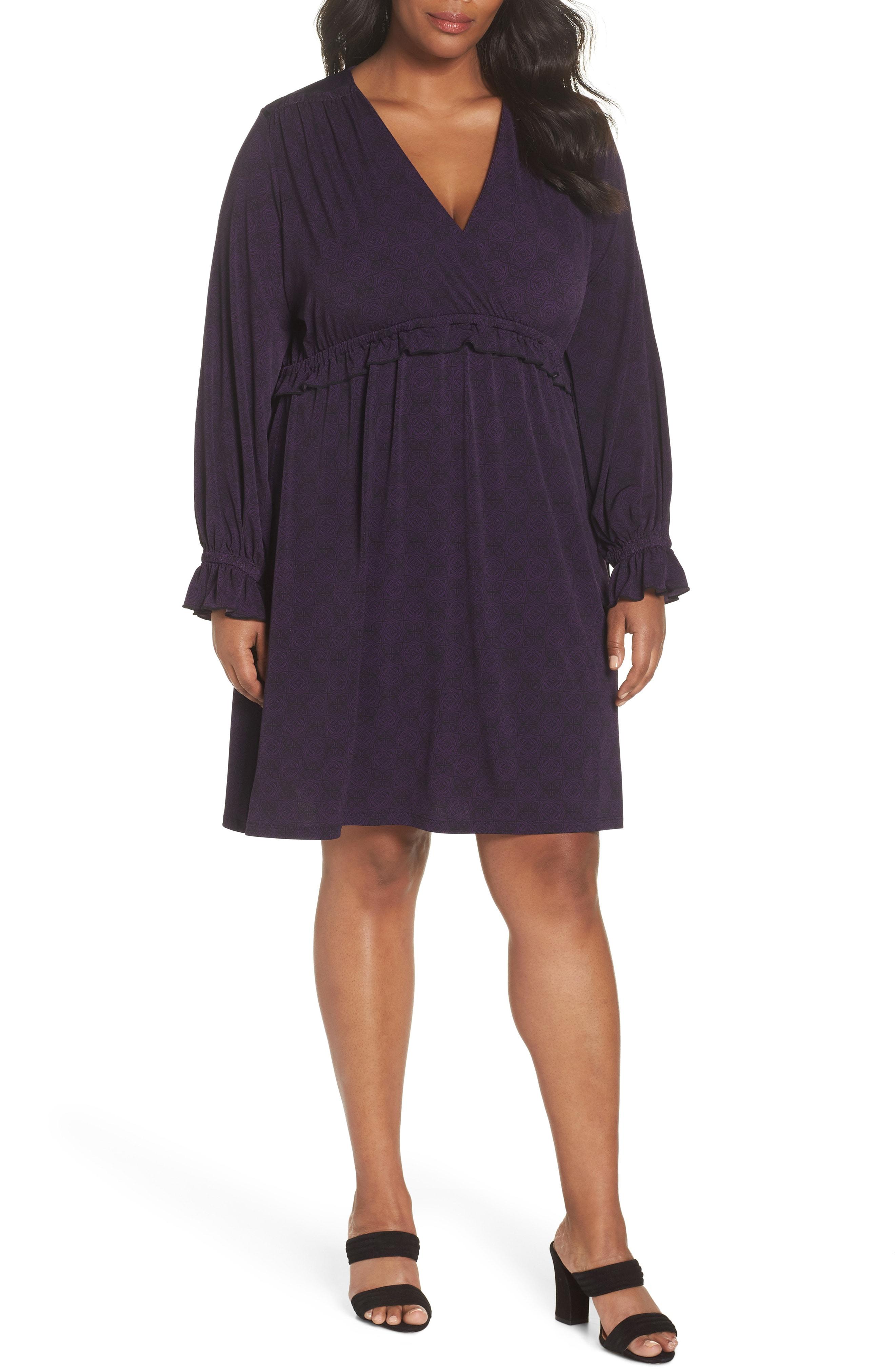 MICHAEL Michael Kors Print Dress (Plus Size)