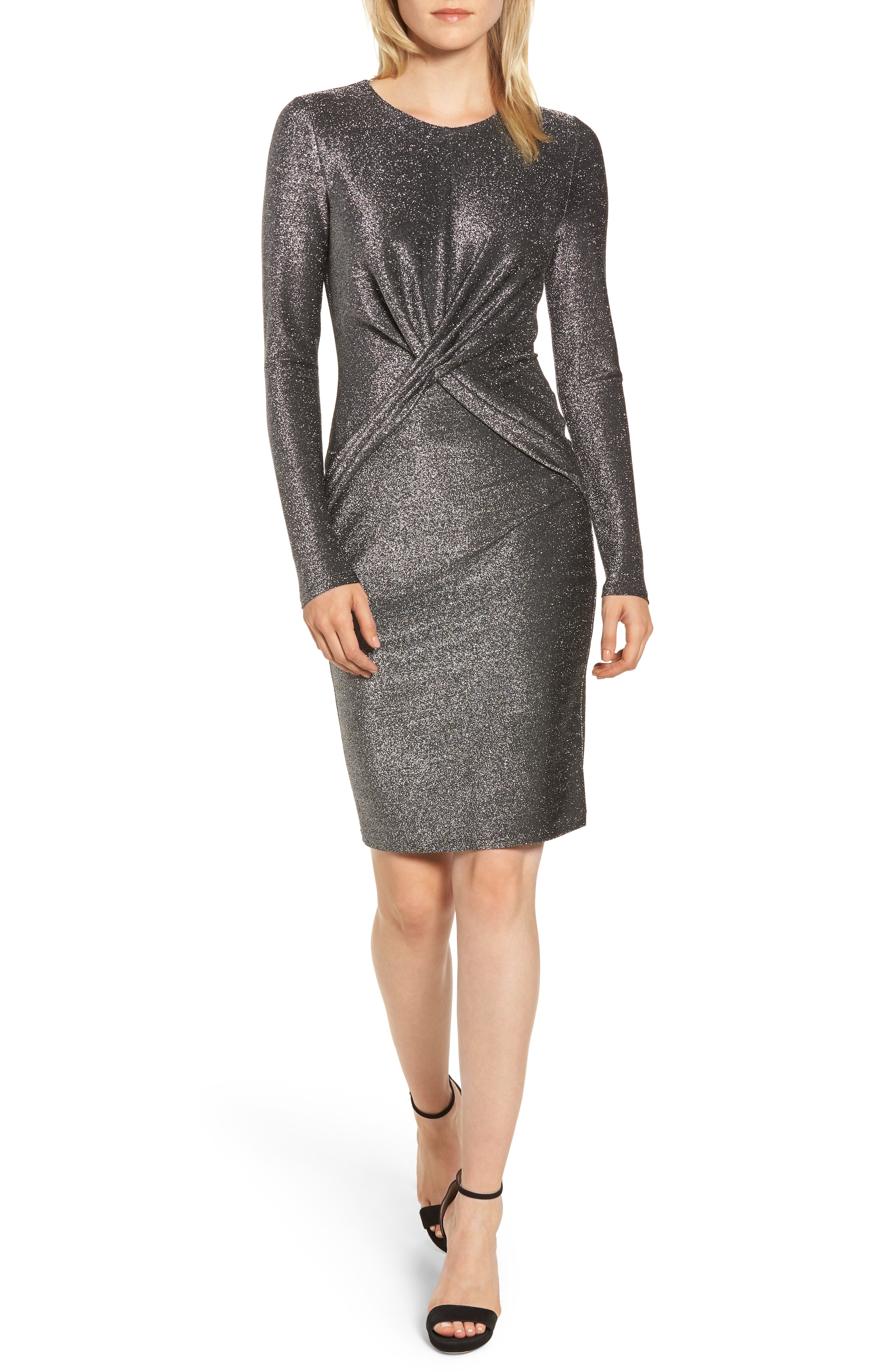 MICHAEL Michael Kors Twist Front Sheath Dress