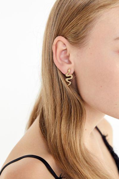 Mini Snake Post Earring