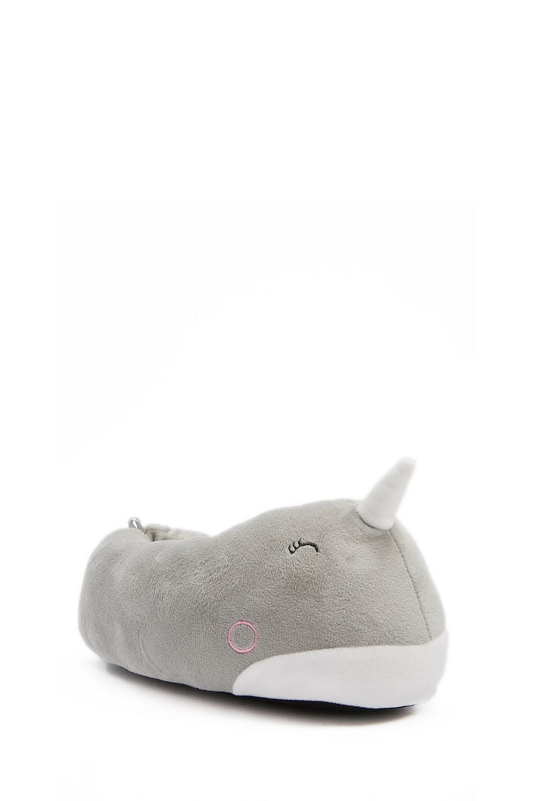 F21 Narwhal Indoor Slippers