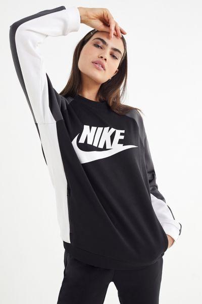 Nike Colorblock Pullover Sweatshirt