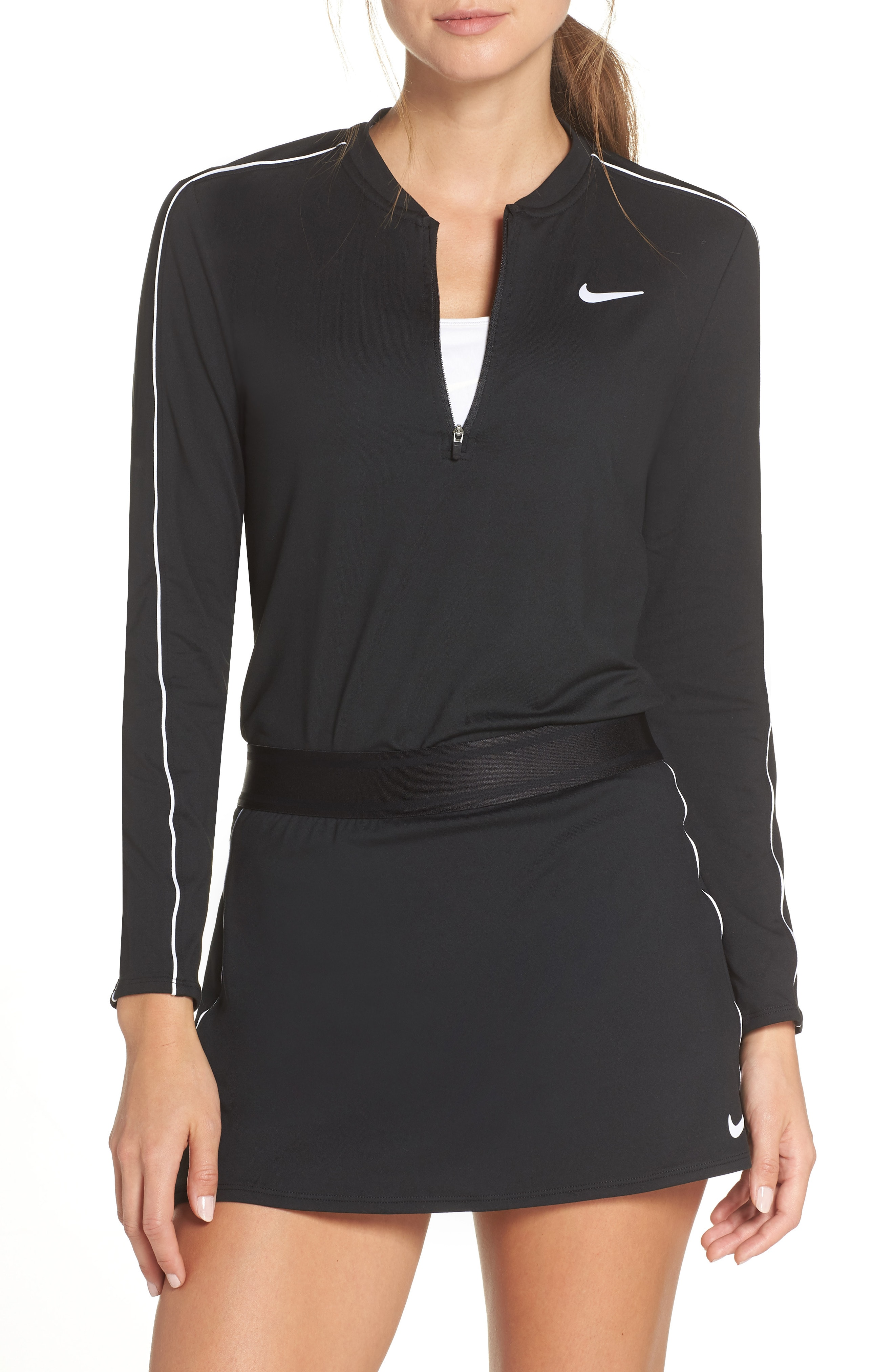 Nike Court Dri-FIT Quarter Zip Top