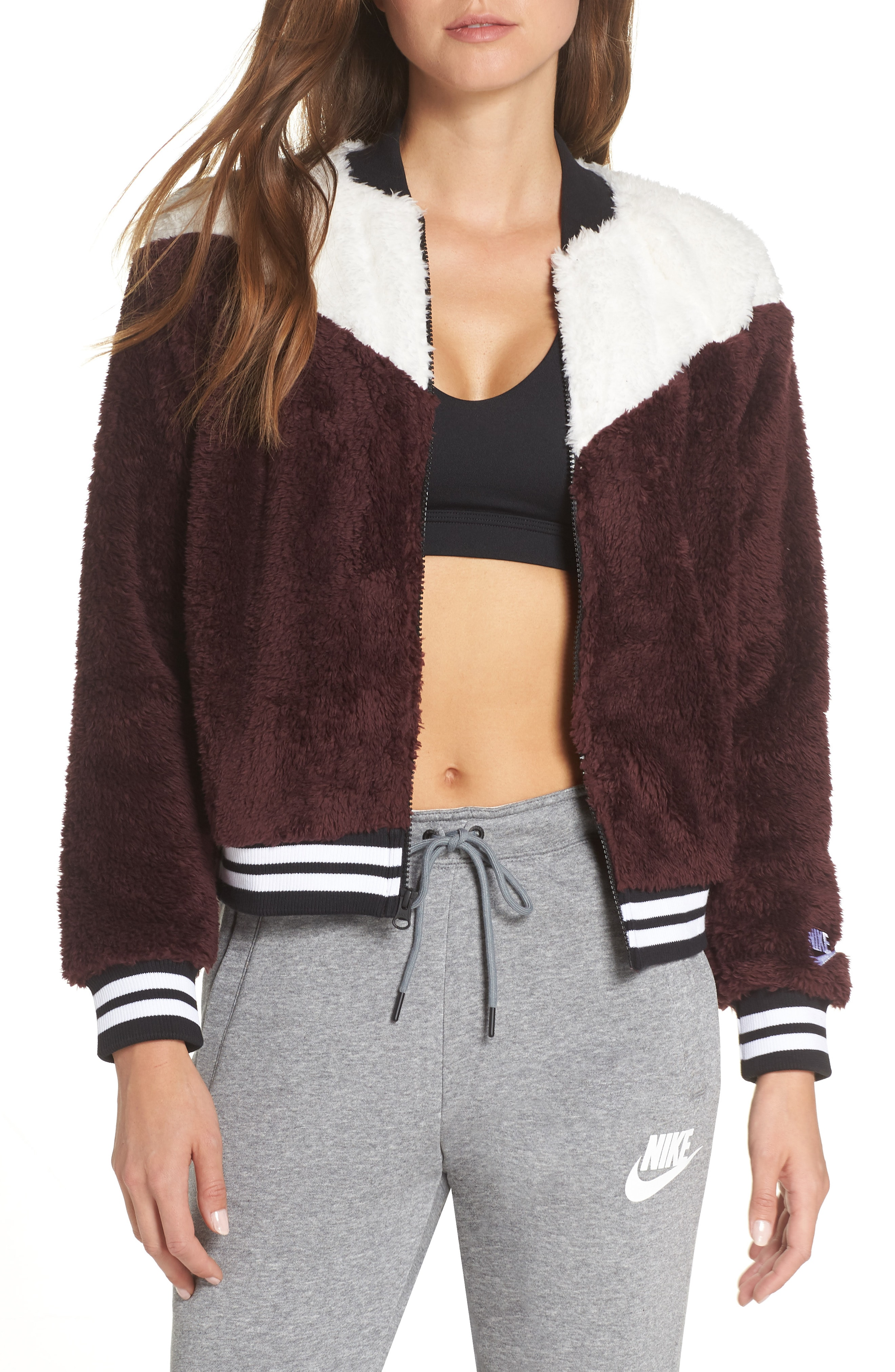 Nike NSW Fleece Bomber Jacket