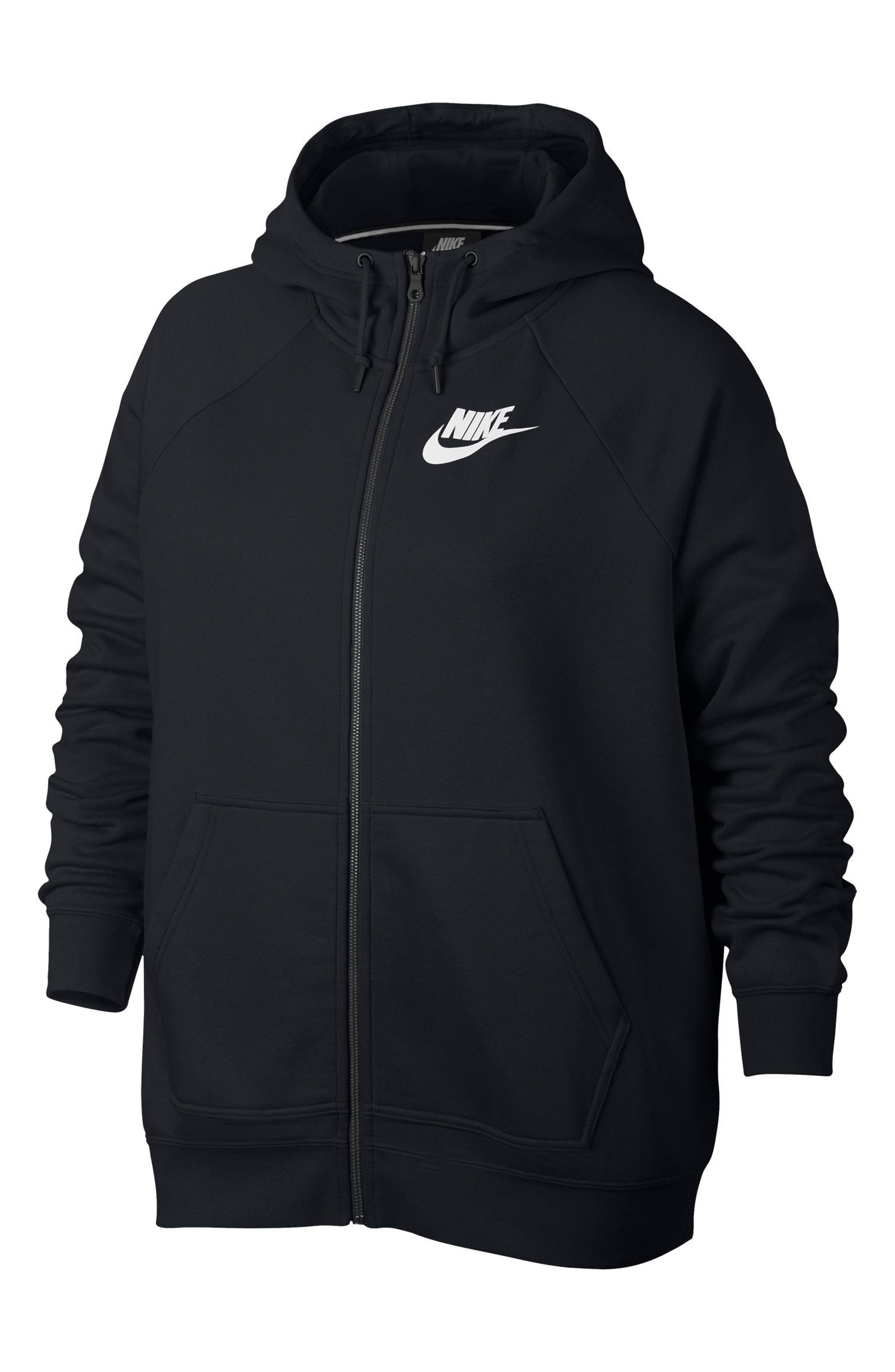 Nike NSW Rally Hooded Jacket (Plus Size)