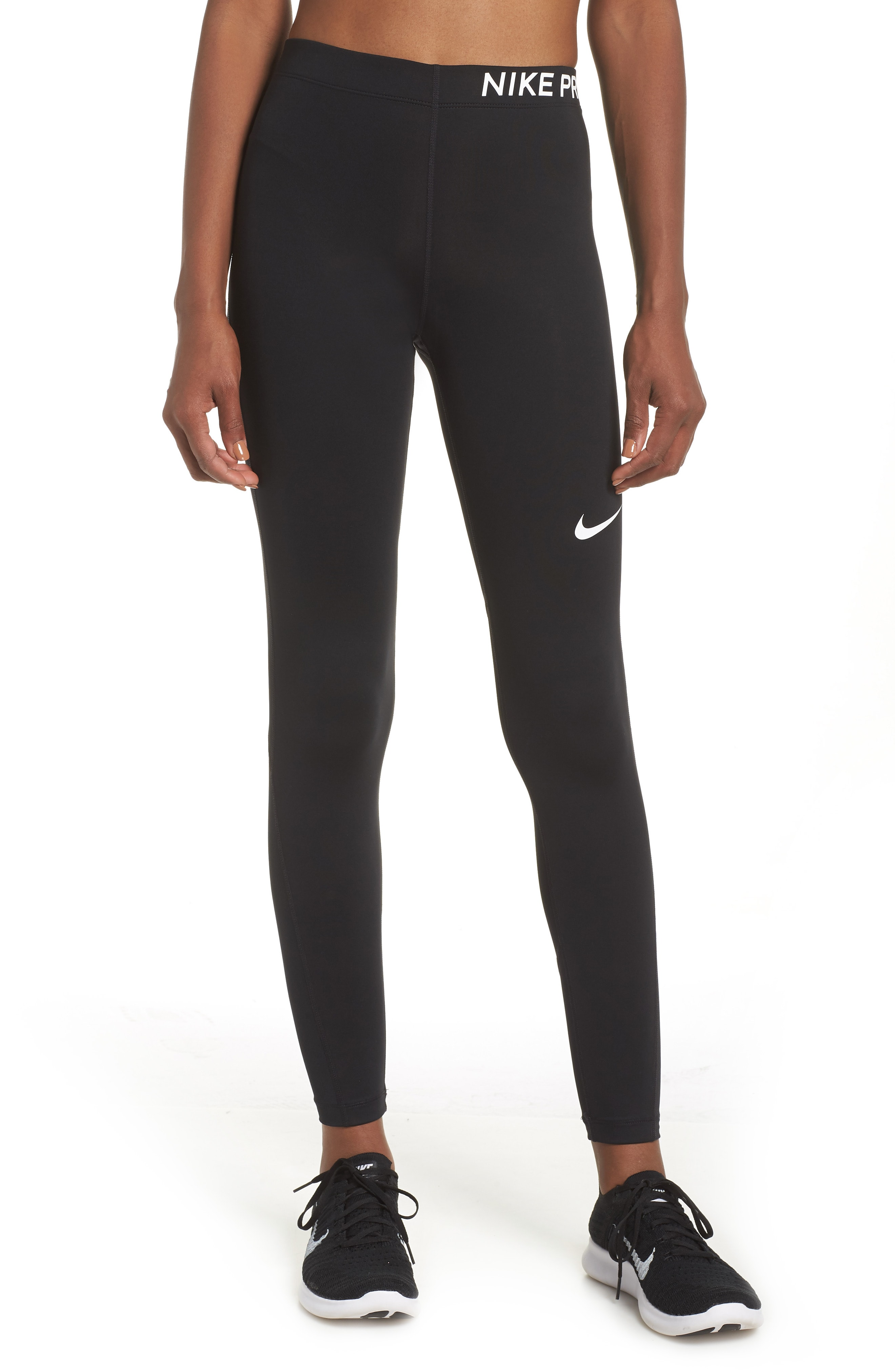 Nike Pro Mid Rise Training Tights