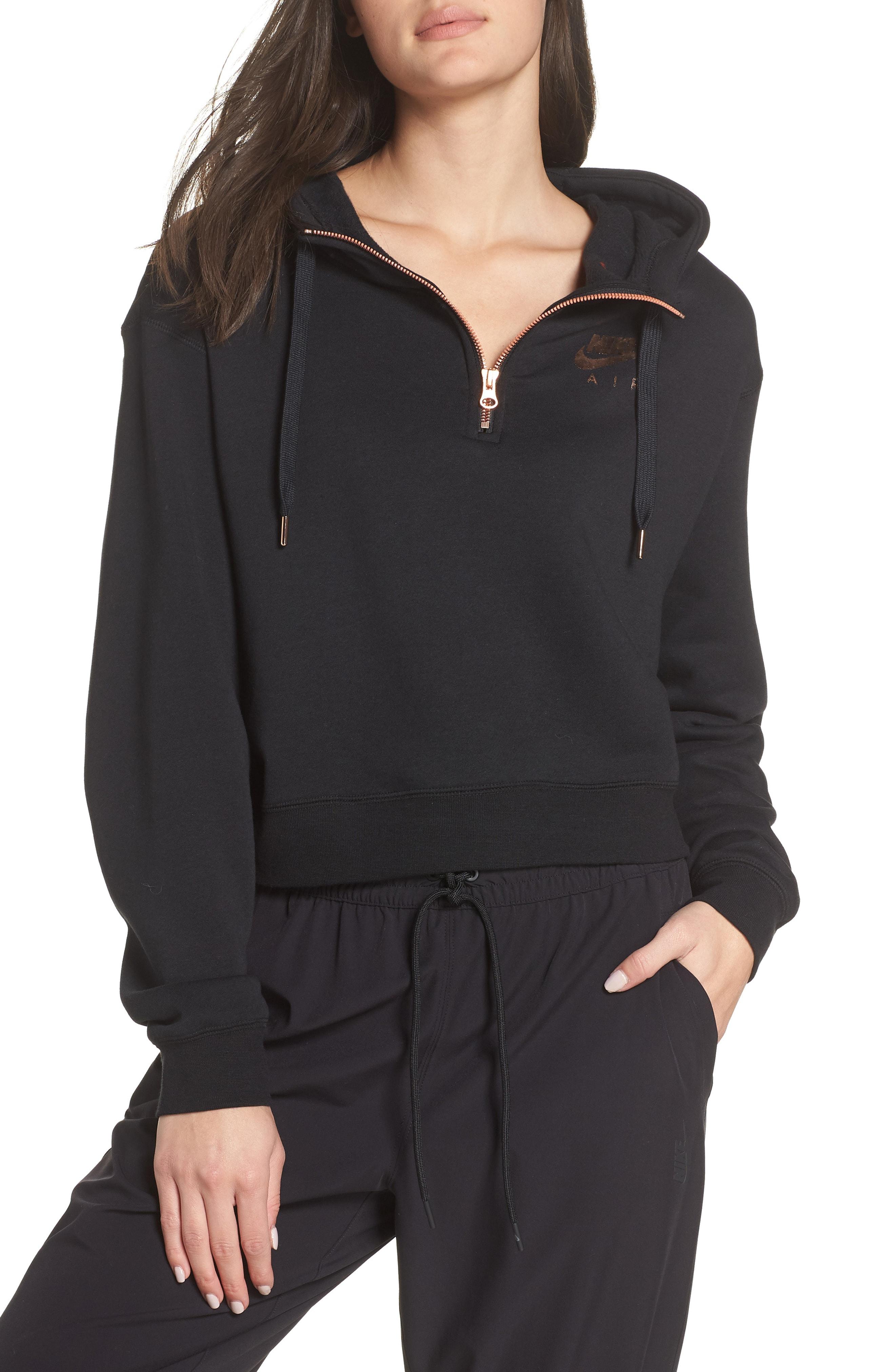 Nike Sportswear Women's Half Zip Fleece Hoodie