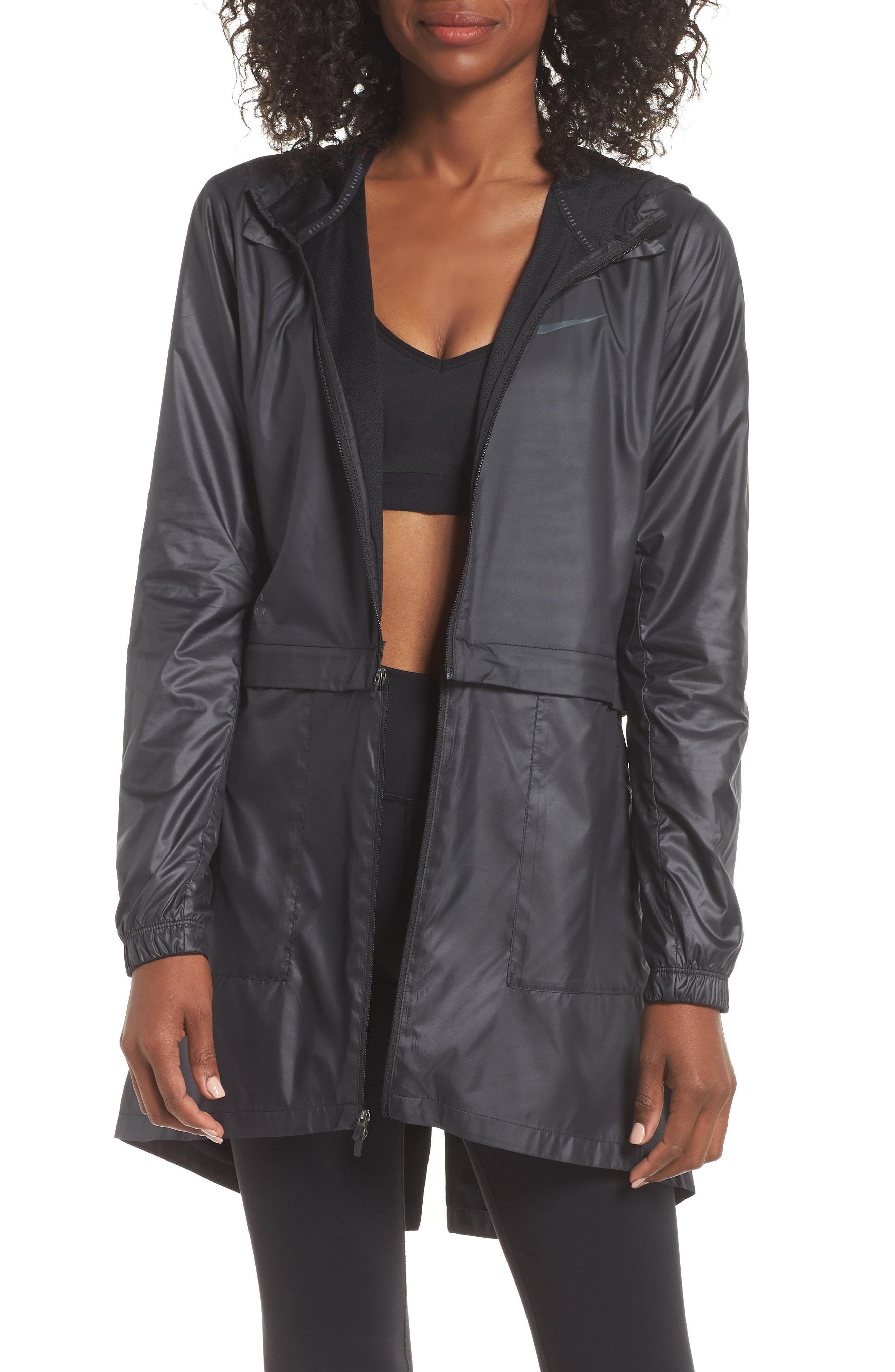 Nike Women's Convertible Hooded Running Jacket