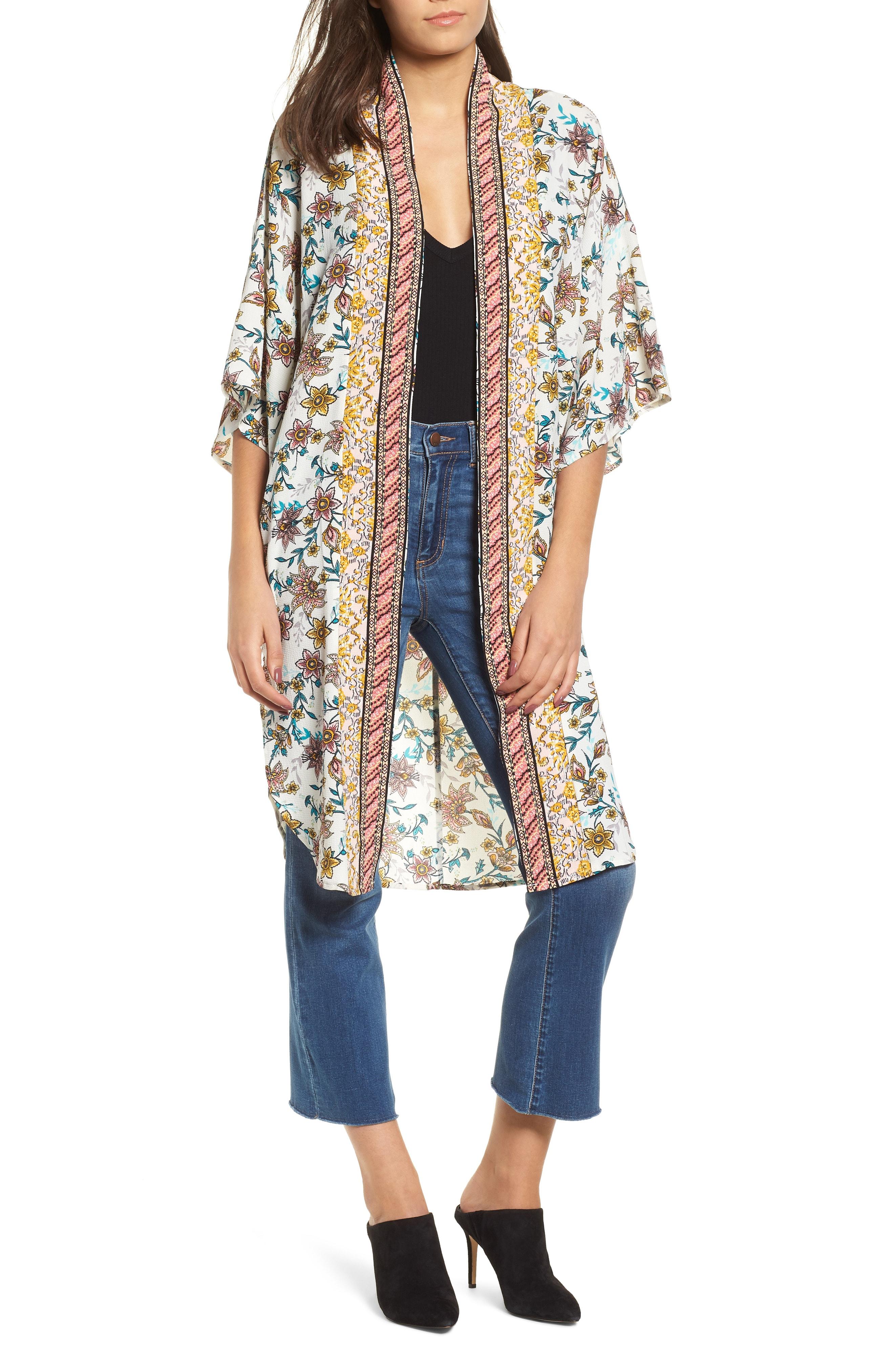 Nordstrom Print Kimono