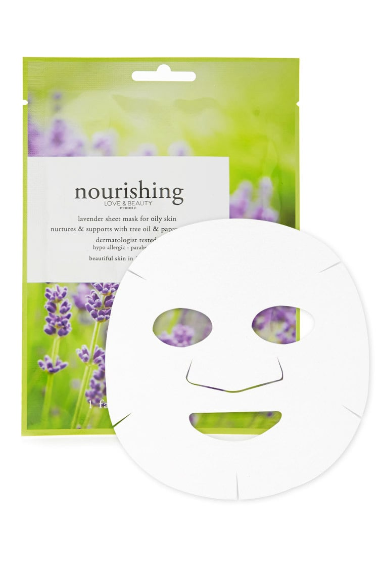 F21 Nourishing Lavender Sheet Mask