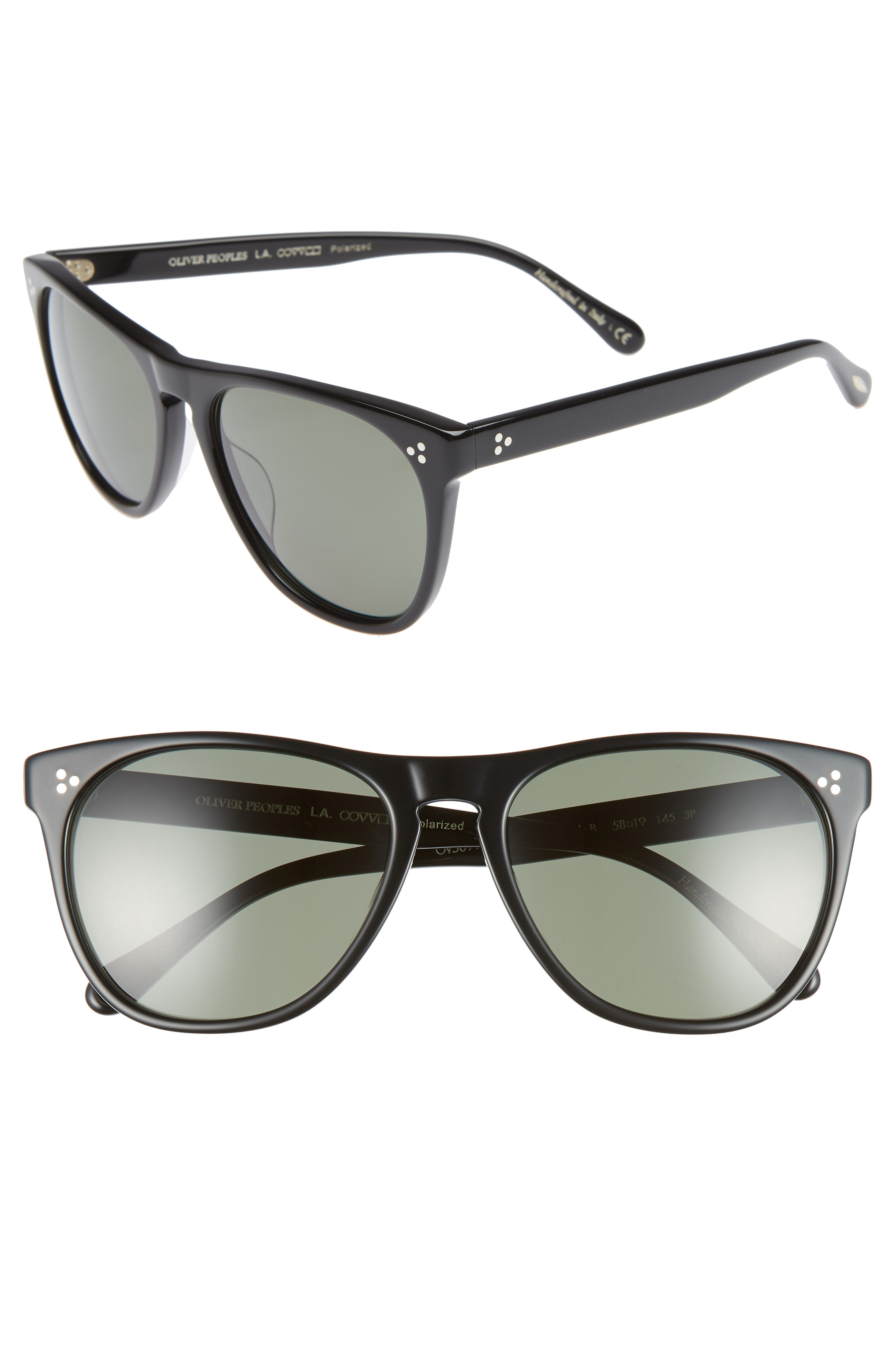 Oliver Peoples Daddy B 58mm Polarized Sunglasses