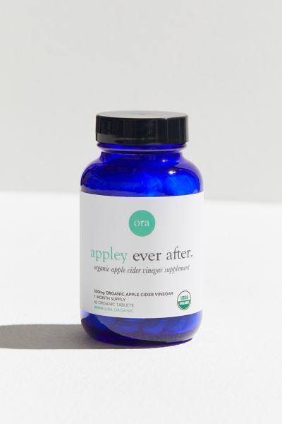 Ora Organic Appley Ever After Organic Apple Cedar Vinegar Pills