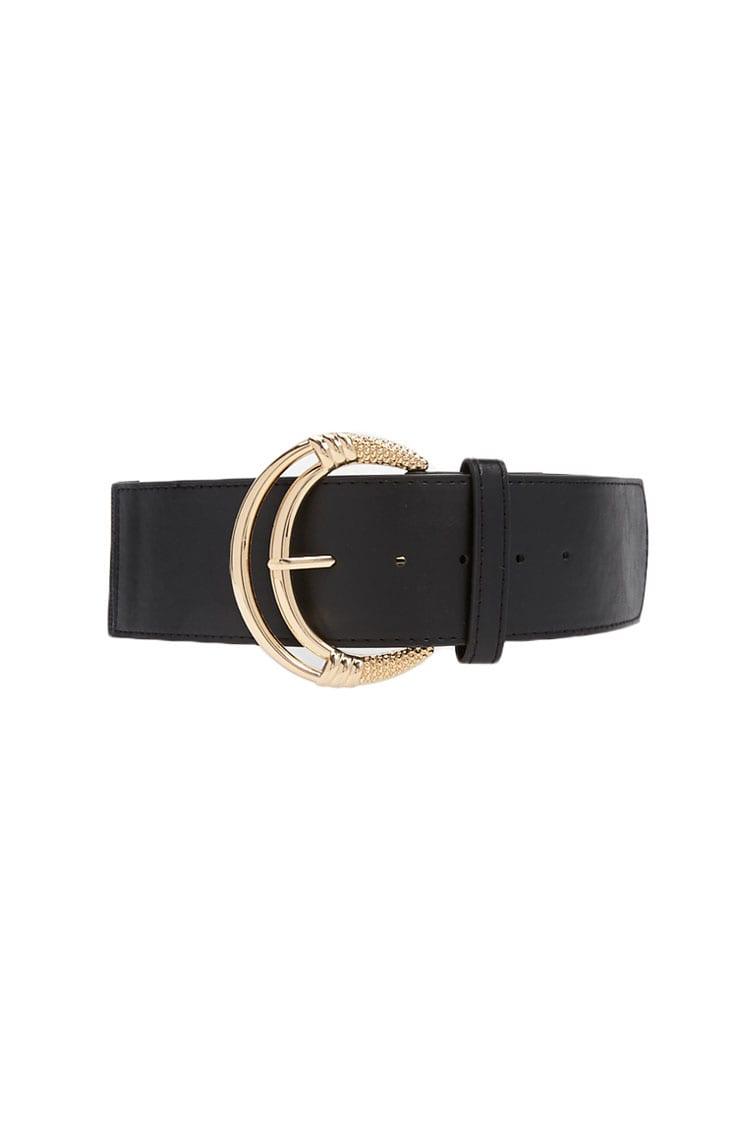 F21 Ornate Buckle Waist Belt