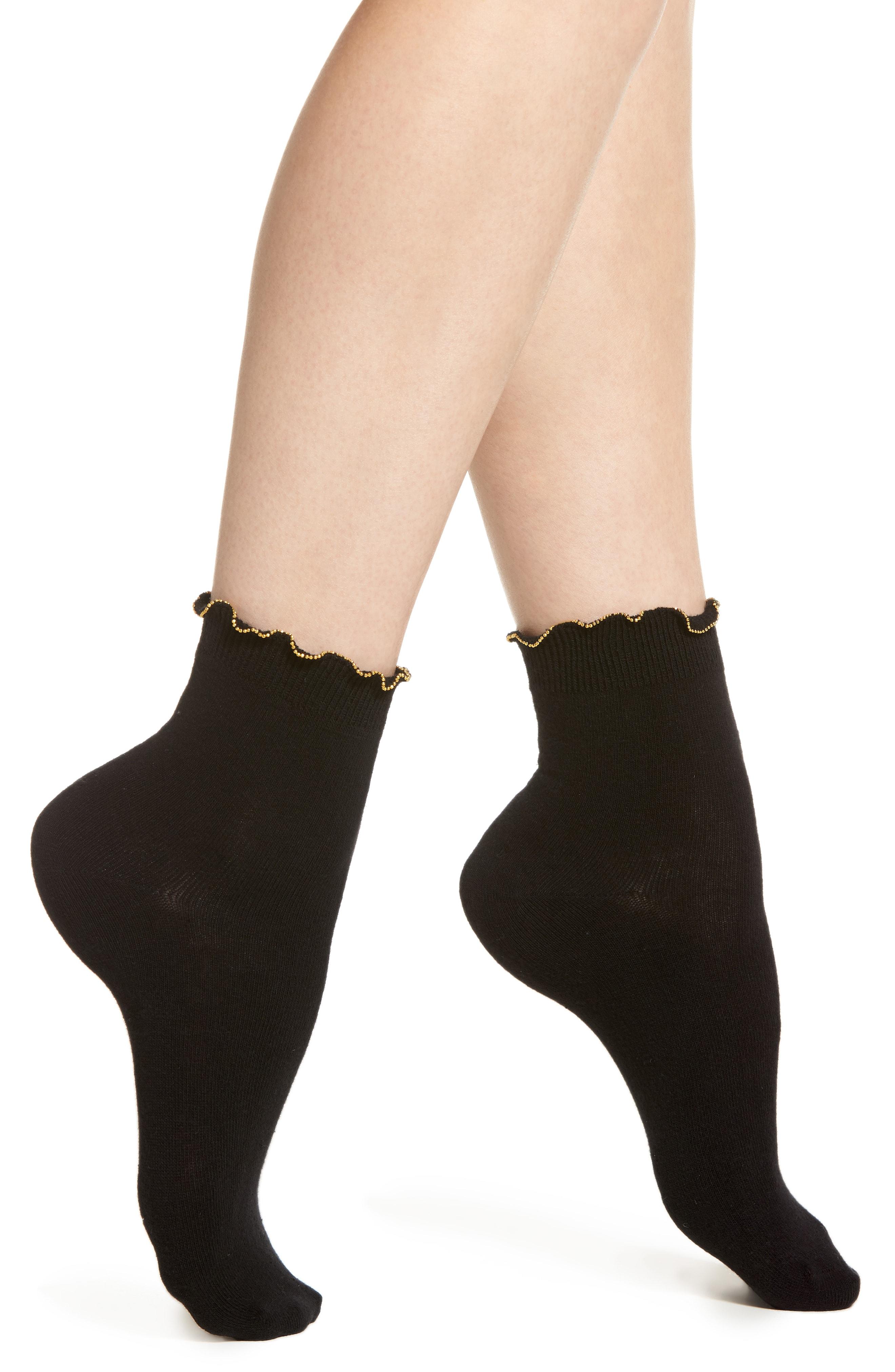 Oroblu Chain Cuff Socks
