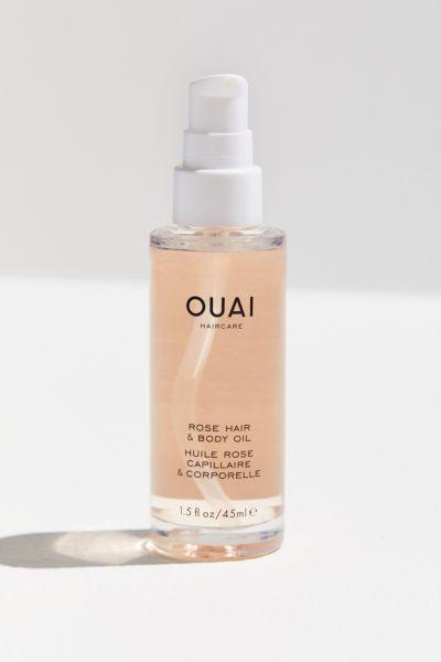 OUAI Mini Rose Hair + Body Oil