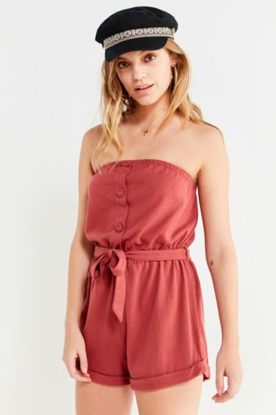 Out From Under Baylee Button Tube Romper