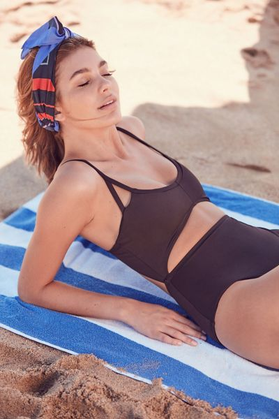 Out From Under Cutout Maillot One-Piece Swimsuit