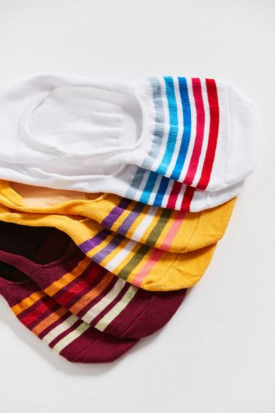 Out From Under Striped No-Show Liner Sock 3-Pack