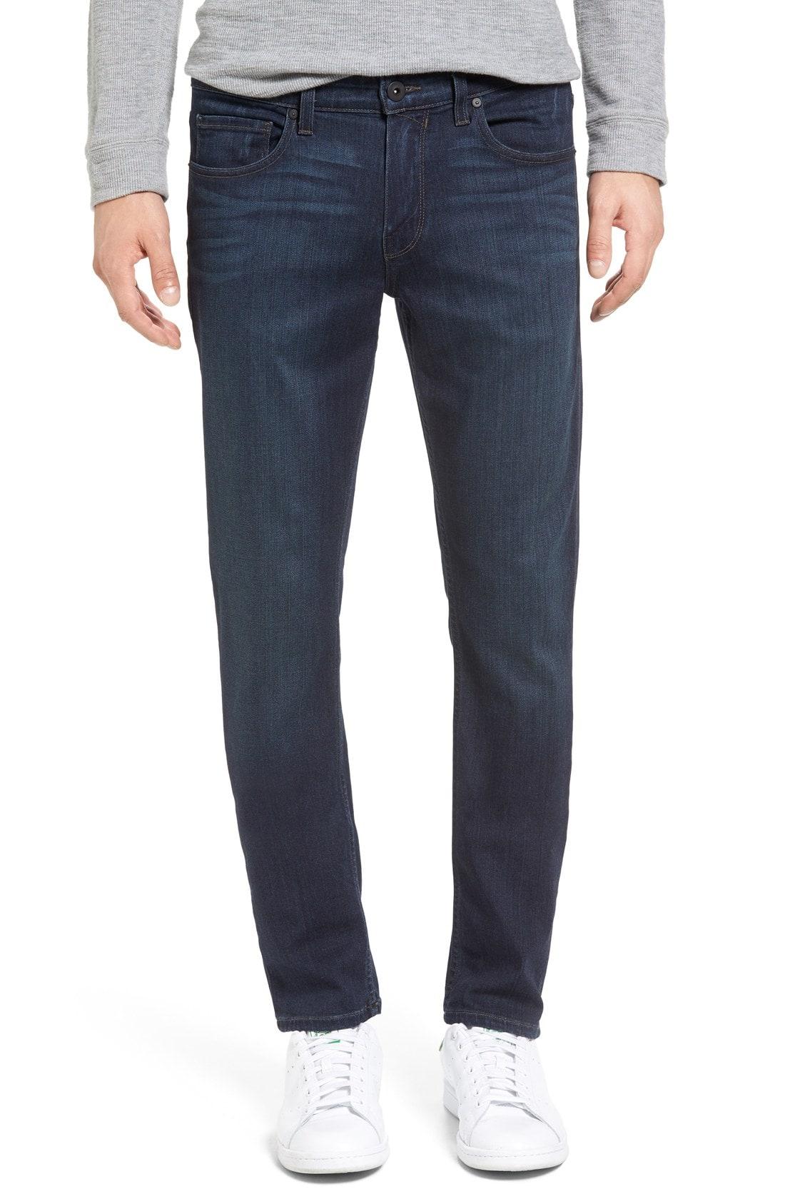 PAIGE Transcend - Croft Skinny Fit Jeans (After Hours)