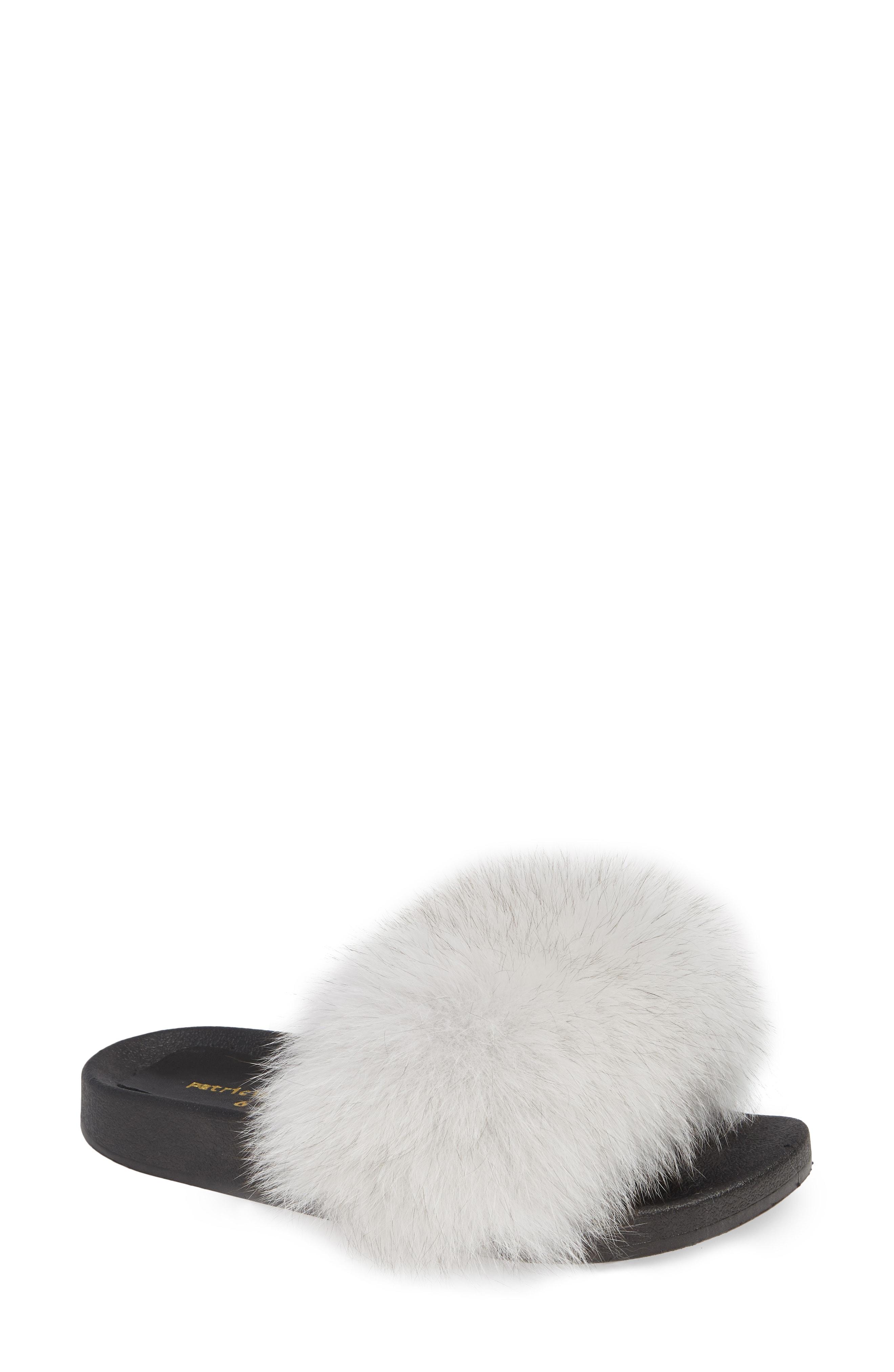 patricia green Foxy Genuine Fox Fur Slipper (Women)