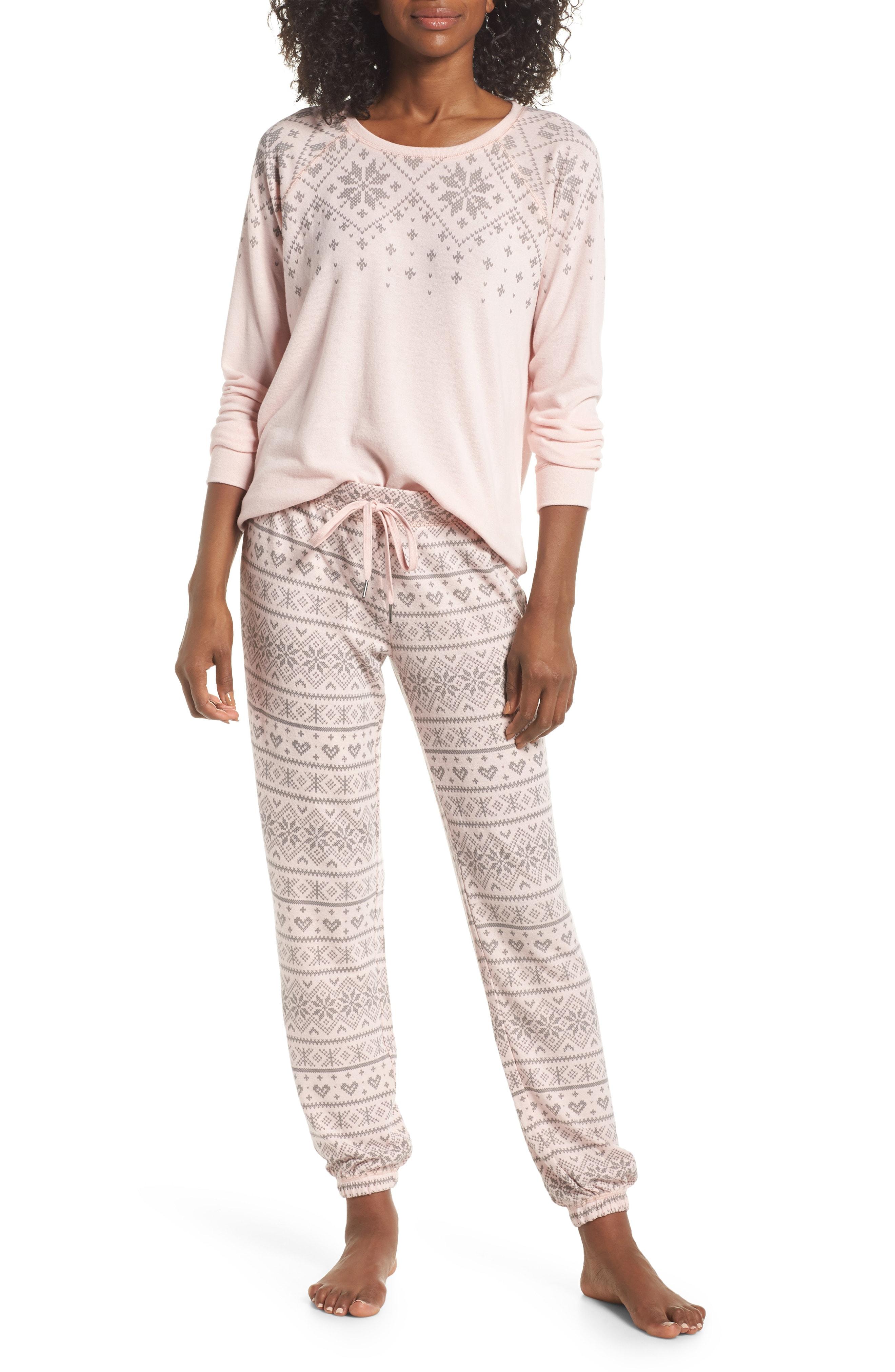 PJ Salvage Just Peachy Jogger Pajamas