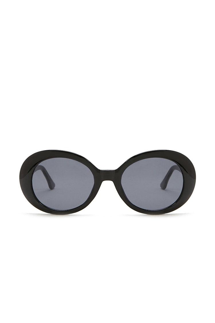 F21 Plastic Oval Sunglasses