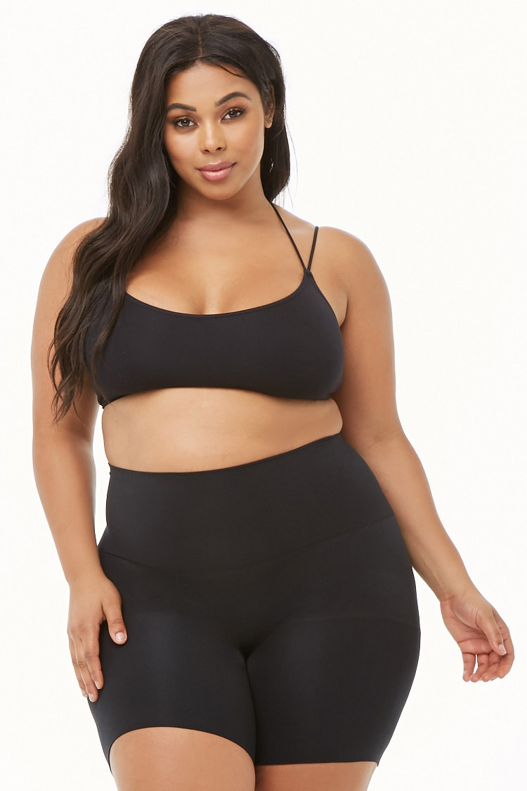 PLUS Plus Size Assets by SPANX Shaping Mid-Thigh Short