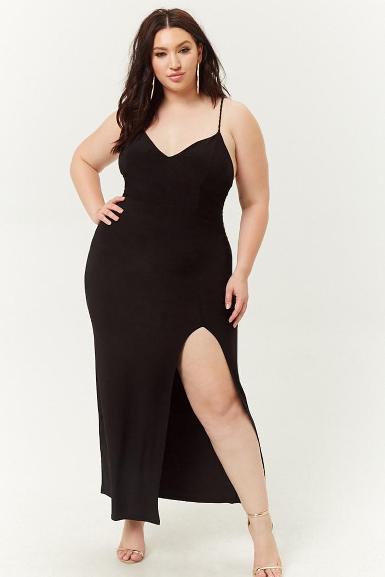 PLUS Plus Size Cami Maxi Dress