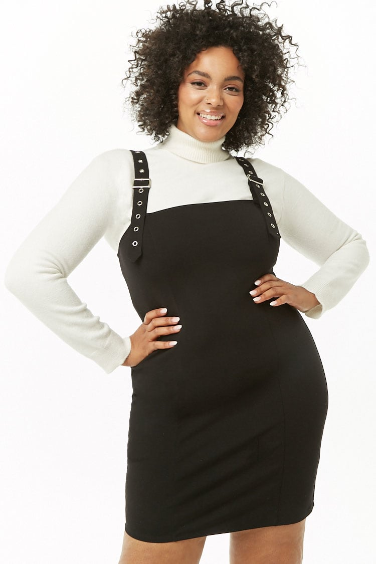 PLUS Plus Size Mini Dress