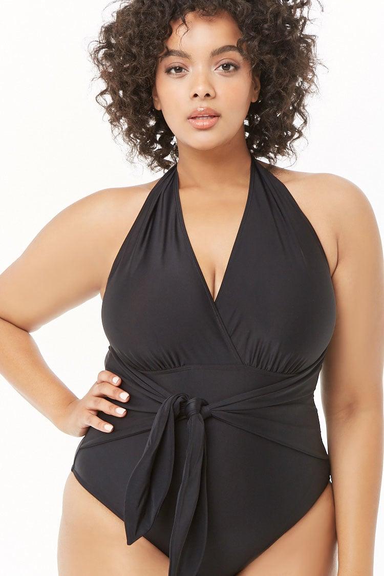 PLUS Plus Size One-Piece Swimsuit