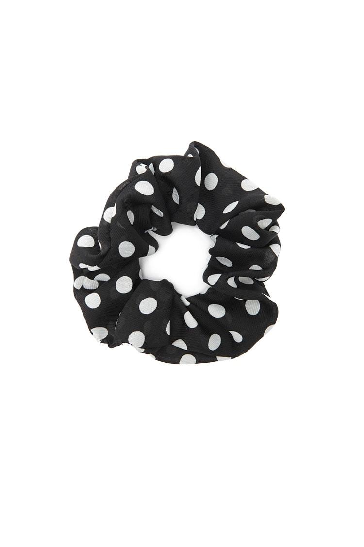 F21 Polka Dot Hair Scrunchie