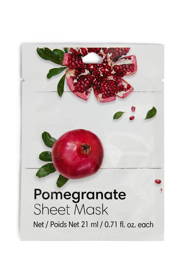 F21 Pomegranate Sheet Mask