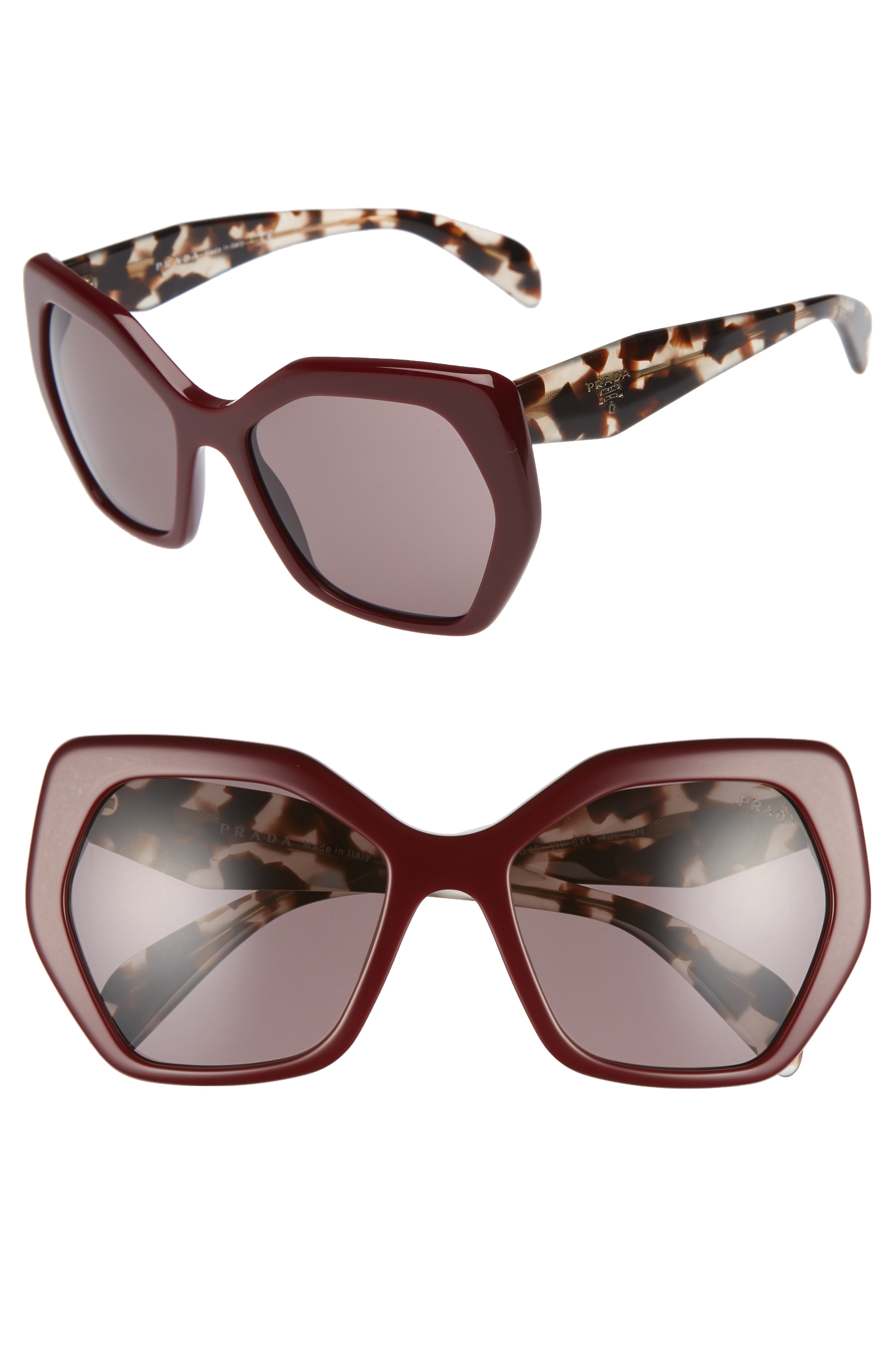 Prada Heritage 56mm Sunglasses (Nordstrom Exclusive)
